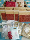 Lace, Rubber Stamp Sheet, Flocked Print - 10p extra P&P for each additional (UK)