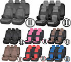 Premium Universal Synthetic PU Leather Seat Bench Steering Wheel Covers $39.95 USD on eBay