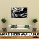 Wall Art Canvas Picture Print - Sniper Camouflage bw 3.2