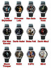 watch capital games movie - Star Wars Jedi Knight The Force Awakens Movie Game Character Leather Wrist Watch