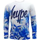 Just Hype Long Sleeve T Shirt - Flower-Lines