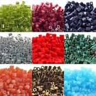 Miyuki 4mm Cube Seed Beads - Over 60 Colours - 10g Packs