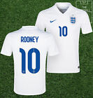 England Home Shirt - Rooney 10 - Official Nike Mens Shirt -  All Sizes