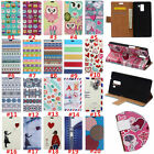 For Samsung Galaxy Magnetic PU Leather Wallet Flip Card Slot Stand Case Cover #2