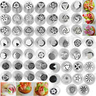 93 Style Russian Tulip Icing Piping Nozzles Stainless Tips Cake Decorating Tool