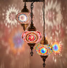 CHOOSE - Turkish Moroccan Mosaic Hanging Ceiling Pendant Chandelier Light Lamp