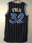 Shaquille Oneal #32 Orlando Magic Jersey Men Classic Throwback Blue White Black