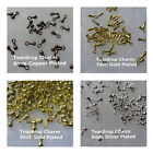 Teardrop Charms Gold Silver Copper Plated 6mm 7mm 100pcs 200pcs Jewelry Supply