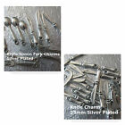 Charms Fork Knife Spoon Silver Plated Assortments