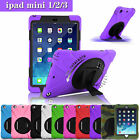 Heavy Duty Tough Silicone iPad Case Cover Skin For Apple iPad Mini 1 2  3