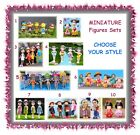 MINIATURE girl figurine sets - CHOOSE YOUR STYLE - fairy garden terrarium beach