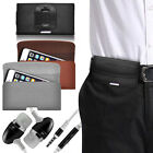 Luxury Horizontal Belt Holster Clip & Handsfree For Samsung Gaalxy A3