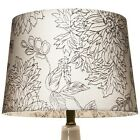 Threshold Floral Toile Stitch Lamp Shade