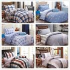 New Striped&Stars Quilt Cover 100% Cotton Single Size Bed Duvet/Doona Cover Set