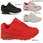 Kids Air  Boys Girls Children Lace Up School Running Sports Trainers Shoes Sizes