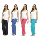 Ladies Linen Trousers LN559A 4 Color's to choose from **