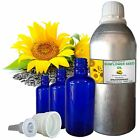 SUNFLOWER SEED OIL 100% Pure Natural Carrier Oil Therapeutic Undiluted 5ml-250ml