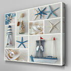 AB664 Modern Beach Craftwork  Canvas Wall Art Abstract Picture Large Print