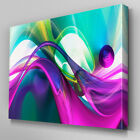 AB925 Modern pink green blue Canvas Wall Art Abstract Picture Large Print