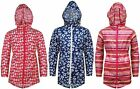 Girls Childrens Printed Kagool | Rain Coat | Packa Jacket