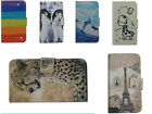 For LG Cell Phone PU Leather Case Cover&Credit Card Wallet W/ Cartoon Pattern