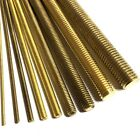 M3 Long Brass Threaded Bar - 3mm Allthread Rod Studding