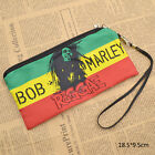Ragga Singer Bob Marley Pencil Case Makeup Case Stroage Bag Pen Holder Fan Made