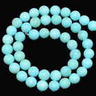 4mm 6mm 8mm  SLEEPING BEAUTY Turquoise Genstone Round Beads 16""