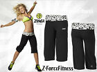 Zumba Fitness Sexy ~ ESCAPE GAUCHO PANTS ~ Black ~ Most Sizes ~ New NWT So Comfy