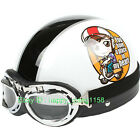 F#09 Half Face Scooter Casco Cycling Motorcycle Motor Girl Helmet Racing Adult