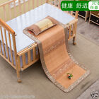 Bamboo bed mat for baby rattan cool summer sleeping mats bed cover for Baby Cot