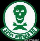USAF 321st MISSILE SQ – 90th BOMB GROUP -Minuteman III- ORIGINAL AIR FORCE PATCH