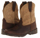 LAREDO LC3110 Youth Brown Tan Prowler Leather Suede Boys Girls Boots Shoes NEW