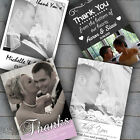 Personalised Photo Wedding Thank You Cards Free Envelopes Many Designs