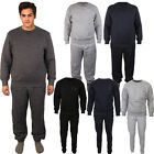 Mens Full Tracksuit Plain  jogging suit Sweat Shirt Bottoms Sweatpant Top Fleece