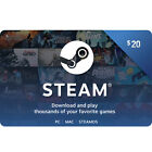 Steam (Valve) Digital Wallet Code $20 $50 $100 - Fast Email Delivery