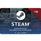 Steam (Valve) Digital Wallet Code $20 / $50 / $100 - Fast Email Delivery For Sale