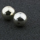 12mm Silver Acrylic Round Faux Pearl Bead Vintage Japanese 10pcs 10310002