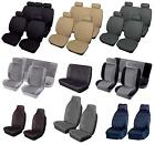 Leather / Fabric Car Seat Covers - Protectors -Airbag Seats- Universal Fitting