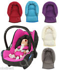 Infant Baby Toddler car seat , stroller travel head support pillow  Soft Fleece