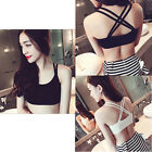 Brand New Yoga Sports Bra Crop Top Vest Comfort Stretch Bras Shapewear Padded