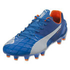 Puma Men's EvoSpeed 1.4 FG Orange Clown Fish/Electric Blue Lemonade 103264 03