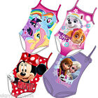 Disney Minnie Mouse 1 Piece Swimsuit Swimming Costume NEW OFFICIAL