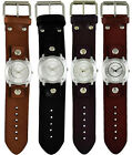Nemesis Roman Numerals Ladies Watch with Basic Junior Leather Cuff Band Vintage