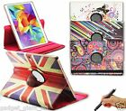"PU Leather Smart Case Cover for Samsung Galaxy Tab S 8.4"" SM-T700 SM-T705 DESIGN"