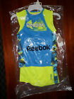 NWT-Boys 2 Piece Reebok Sleeveless Logo Short Set--Safety Yellow Color-RB