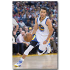 Stephen Curry Super Basketball Star Poster Canvas Print 12x18 24x36inch 007 $12.31 USD