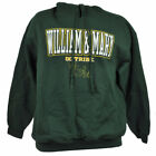 NCAA Wilma & Mary Go Tribe Hoodie Sweater Green Winter Mens Adult W&M Sport Game