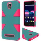 Dynamic Dual Hybrid Case Phone Cover Accessory for ZTE Obsidian Z820 LTE
