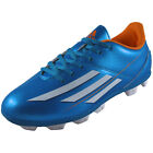 Adidas Junior Kids Boys F5 TRX HG Football Boots Blue *AUTHENTIC*